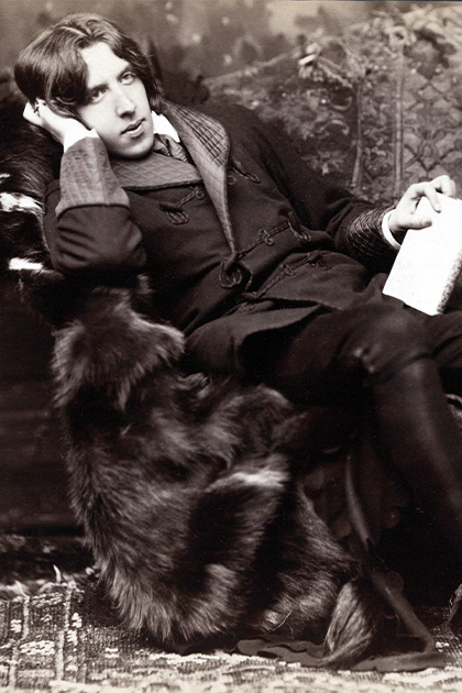 Oscar Wilde, who wrote the play The Importance of Being Earnest
