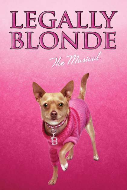 Legally Blonde Show Poster