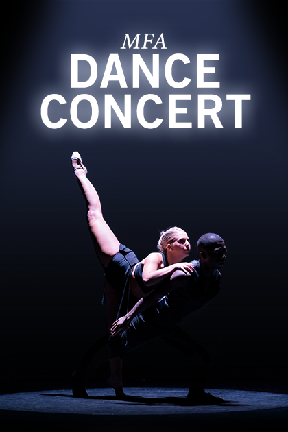 MFA Dance Concert Poster
